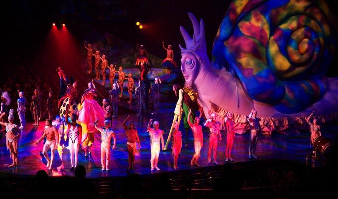 Cirque do Soleil show in Las Vegas